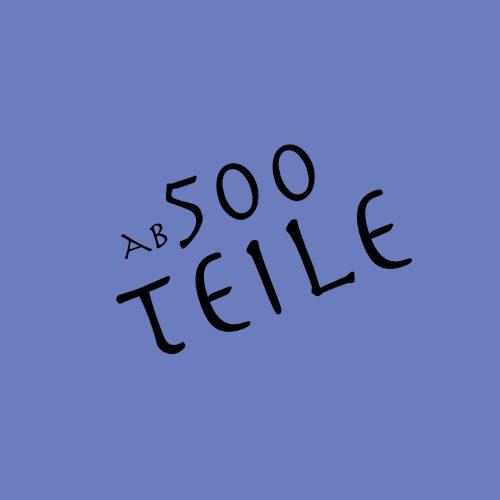 ab 500 Teile
